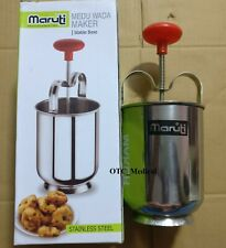 Doughnut Donut Maker Steel Menduwada Meduwada Maker Manual Dispenser Free Ship