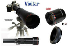 VIVITAR 650-1300mm Preset Telephoto Lens with 2x (up to 2600mm total) for CANON