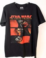 Star Wars Episode VII Mens Size L The Force Awakens Kylo Ren Black TShirt
