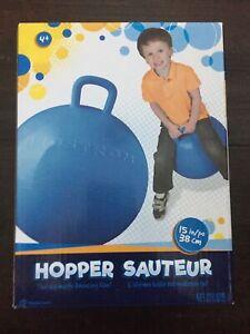 """HEDSTROM 15"""" Ball Hopper L. Rubber Bouncing Ball"""