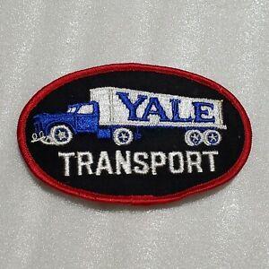 VINTAGE Yale Transport Trucking Uniform patch. Unused.