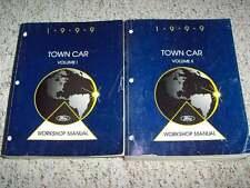 1999 Lincoln Town Car Shop User Repair Manual Set Executive Signature Cartier
