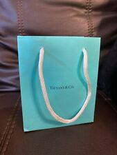 Tiffany & Co. Small Blue Paper Bag