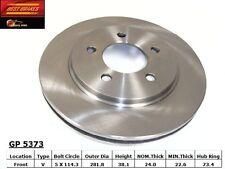 Best Brakes GP5373 Front Brake Rotor Pair