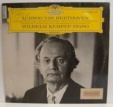 "BEETHOVEN WILHELM KEMPFF KLAVIERSONATEN NR. 21 WALDSTEIN, 25 & 23 12"" LP (e756)"