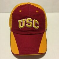 USC TROJANS NCAA Hat Cap yellow red Univ S.California Official Licensed OSFA NEW