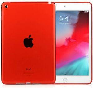 For Apple iPad Mini 4th & 5th Gen - TPU GUMMY RUBBER SILICONE SKIN CASE COVER