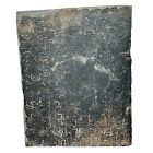 RARE Authentic Ancient Chinese Ming Dynasty Calligraphy Stone Circa 1368-1644 AD