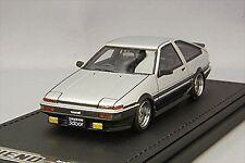 ignition model 1/43 Toyota Sprinter Trueno 3Dr GT Apex AE86 Silver/Black IG0488
