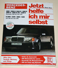 Reparaturanleitung Mercedes W124 Benziner 200 220 260 280 300 320, 1984 - 1995