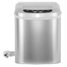 Smeta Electric Portable Ice Maker Cube Machine Countertop 26lbs Day Silver