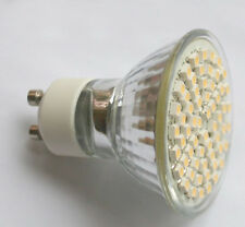 GU10 Warm White 60 SMD LED Spot Light Bulb Lamp 230V