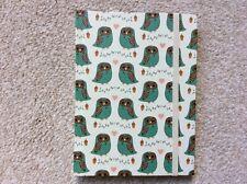 Sass & Belle forest owl design notebook/jotter