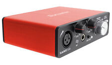 Focusrite SCARLETT SOLO MK2 192 KHz USB 2.0 Audio Interface w/ Pro Tools First