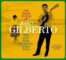 JOAO GILBERTO - THE WARM WORLD OF JOAO GILBERTO  CD NEUF