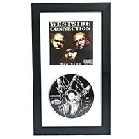 Ice Cube Mack 10 WC Signed Westside Connection Bow Down Framed CD Beckett BAS