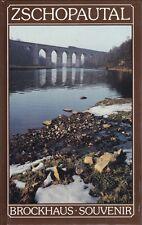 Zschopautal, Bildband durch die Stadt, Brockhaus Souvenir, DDR, 1. Auflage 1989