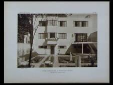 L'ARCHITECTE 1926 PARIS PORTE ST CLOUD, GUIDETTI, VERSAILLES LURCAT, WAMBRECHIES