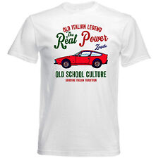 AUTO D'EPOCA ITALIANE Alfa Romeo Zagato Junior-Nuovo T-shirt di cotone