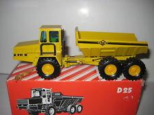 O&k D 25 tombereaux jaune #301.6 NZG 1:50 neuf dans sa boîte