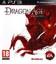 Dragon Age Origins PS3 playstation 3 jeux jeu rôle rpg game games lot 295