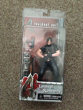 NECA RESIDENT EVIL 4 LEON S. KENNEDY JACKET OFF FIGURE RARE SERIES 1 NEW/SEALED