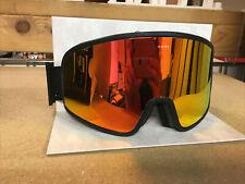 Electric Electrolite Goggles Matte Black Brose/Red Chrome