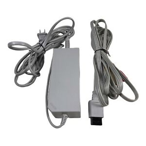 Official OEM Nintendo Wii AC Power Supply and AV Cable Cord RVL-002 RVL-009
