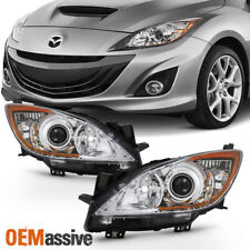 Fit 2010 2011 2012 2013 Mazda 3 Mazda3 Halogen Headlights 10 11 12 13 Left+Right