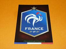 BADGE ECUSSON WAPPEN FRANCE FFF 2015 PANINI FAMILY FOOTBALL UEFA EURO 2016