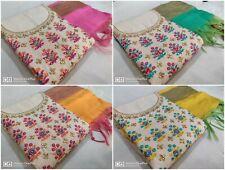 Indian Embroidery New Designer Ethnic Salwar Kameez Suit Shalwar PartyWear Dress