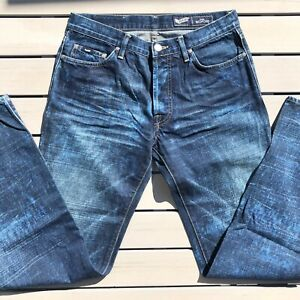 Men's Gas Metford Jeans Size 32 Stretch Styled in Italy 🇮🇹 RRP$295