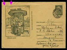1955/1957 Printed Press distribution Newsstand,Romania,rare stationery cover/1