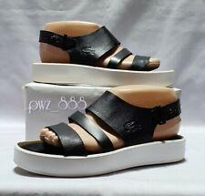 LACOSTE Leather Sandals Shoes Size 37