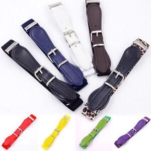 Kids Toddler Buckle Belt Adjustable Elastic Child Buckle Belts