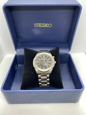 Mens Seiko Kinetic Watch 5M63-0A60