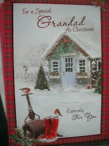 For a Special  GRANDAD at Christmas Especially For You (Garden Shed) Card