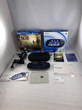 Sony PlayStation PS Vita Wi-Fi Handheld Console PCH-1101 4 Gb memory card bundle