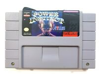AUTHENTIC - Power Instinct - Super Nintendo SNES Game - Tested - Working!