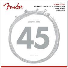Nickel-Plated Steel LONGSCALE Cordes de Fender pour 5-Saiter E-Bass .045 - .125