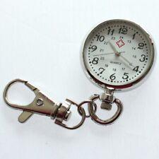 Cute Fashion Keychain Watch Key Ring Fob Nurse Pendant Quartz Pocket Watch GL47