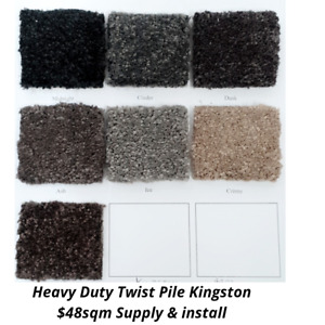 Kingston Australian Made Carpet $48 supply & install