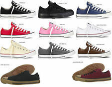 CONVERSE All Star Chuck Taylor OX  Black White Red Navy Pink Classic Canvas MEN