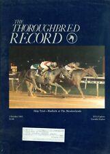 1985 Thoroughbred Record Magazine: Skip Trial--Mudlark at the Meadowlands
