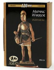 o Figurino AMATI 120 mm - Hispanic Warrior (II secolo a.C.)