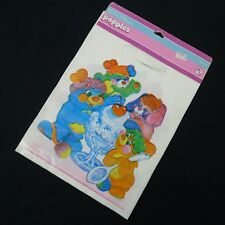 Vintage Popples Loot Bag For Birthday Parties 1986 Package of 12 NOS Plastic