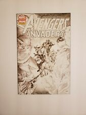 Avengers Invaders (Marvel Dynamite) #1C  Ross Sketch Variant * 1 Book Lot *