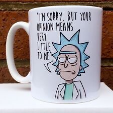 Rick And Morty Mug Gift Coffee Tea Cup New Office Kitchen Birthday DVD Tshirt