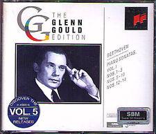 Glenn GOULD BEETHOVEN Piano Sonata Vol.1 Moonlight Pathetique 3CD Klaviersonaten