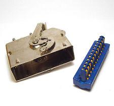 24-poliger Amphenol-Stecker für Meßgeräte und Funktechnik, HP, Tektronix, etc.